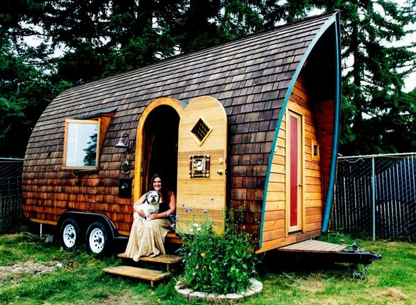 dreadnaught darling tiny house on wheels living small the flying tortoise