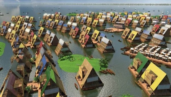 High-Tech Floating Houses Planned For Nigeria Water Communities