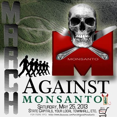 Monsanto Skull, the March